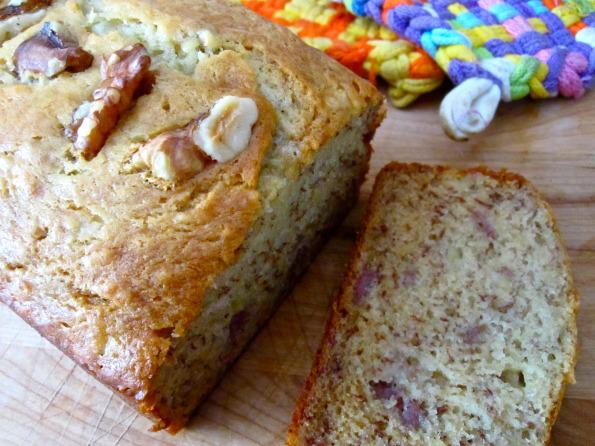 Sour Cream Banana Bread – Whisk Flip Stir